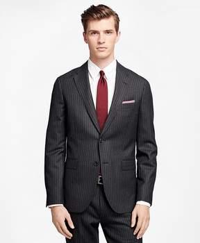 Brooks Brothers Chalk Stripe Suit Jacket