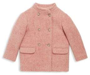 Bonpoint Little Girl's & Girl's Tweed Wool Jacket
