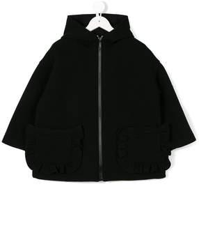 Simonetta hooded jacket