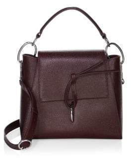 3.1 Phillip Lim Leigh Top Handle Leather Satchel