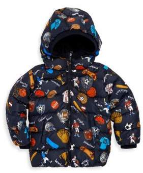 Dolce & Gabbana Little Boy's Printed Down Jacket