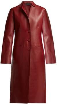 Joseph Anda bonded-leather coat