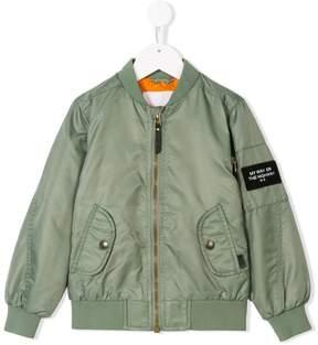 Molo zipped bomber jacket