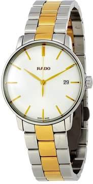 Rado True White Dial Two-tone Men's Watch