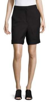 Context Linen-Blend Shorts