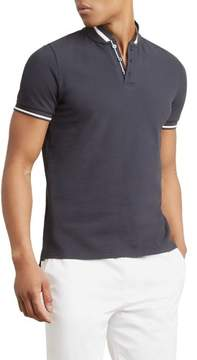 Kenneth Cole New York Reaction Kenneth Cole Pique Collarband Shirt - Men's