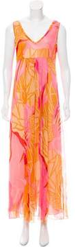 Antik Batik Sleeveless Silk Dress