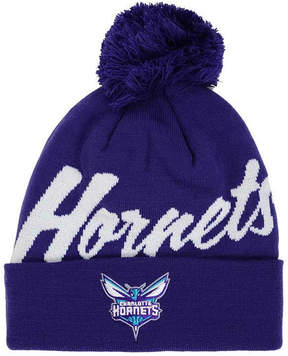 Mitchell & Ness Charlotte Hornets Double Up Cuff Knit