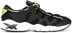 Asics leather trim mesh sneakers