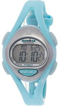 Timex Women's Ironman T5K701 Green Resin Quartz Sport Watch