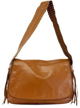 Blumarine Brown Leather Messager Bag