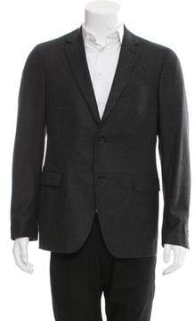 Salvatore Ferragamo Wool Two-Button Blazer