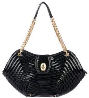 Eric Javits Patent Leather Shoulder Bag