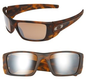 Oakley Men's Fuel Cell 60Mm Sunglasses - Brown Tort