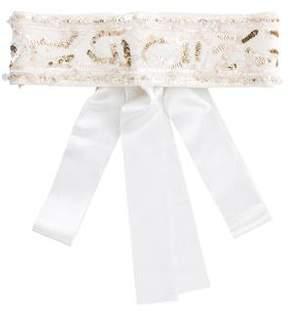 Valentino Sequined Waist Belt w/ Tags