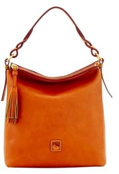 Dooney & Bourke Florentine Small Sloan Bag. - NATURAL - STYLE