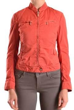 Brema Women's Orange Cotton Outerwear Jacket.