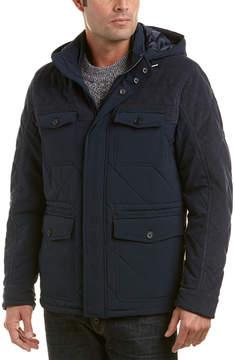 Michael Bastian Gray Label Mixed Media Snorkel Jacket