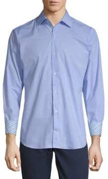 Tailorbyrd Behan Cotton Button-Down Shirt