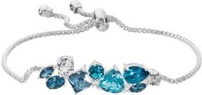 Brilliance+ Brilliance Bolo Bracelet with Swarovski Crystals