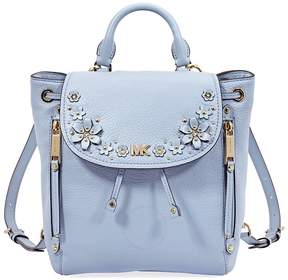 Michael Kors Evie Small Flower Garden Backpack- Pale Blue - ONE COLOR - STYLE