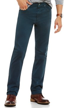 Roundtree & Yorke Casuals Straight Fit 5-Pocket Pants