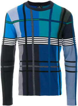 Paul Smith checked sweatshirt