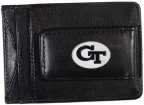 DAY Birger et Mikkelsen Kohl's Georgia Tech Yellow Jackets Black Leather Cash & Card Holder