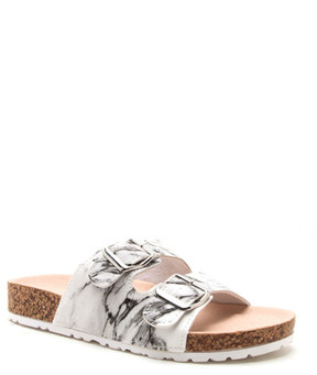 Qupid Delta Slip-On Sandal
