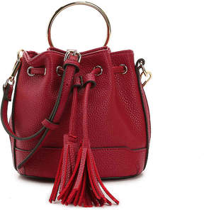 Urban Expressions Drawstring Ring Mini Crossbody Bag - Women's