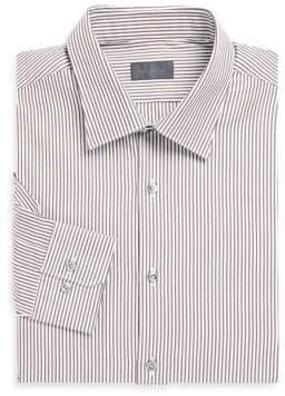 Pal Zileri Striped Cotton Dress Shirt
