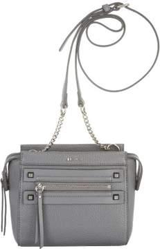 Nine West Dima Saddle Crossbody Handbag One Size Heather grey