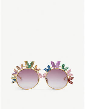 ANNA KARIN KARLSON The Butterfly round-frame sunglasses