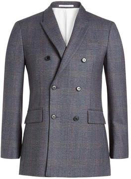 Calvin Klein Double Breasted Wool Blazer
