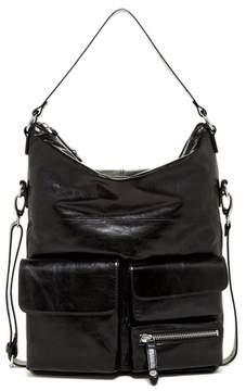 Hobo Explorer Leather Shoulder Bag