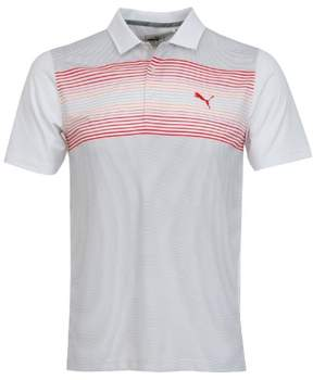 Puma Highlight Stripe Polo Crest-Bright White-Vibrant-57393104-L