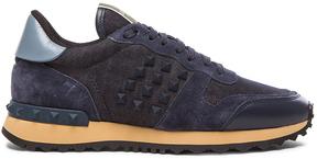 Valentino Rock Runner Rockstud Sneakers