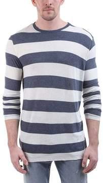 ATM Anthony Thomas Melillo Rugby Stripe Long-Sleeve Crew Neck Tee (Men's)