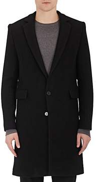 IRO Men's Ivan Brushed Virgin Wool-Blend Flannel Coat