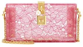 Dolce & Gabbana Dolce Box lace clutch