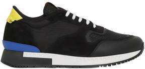 Givenchy Leather, Suede & Mesh Sneakers