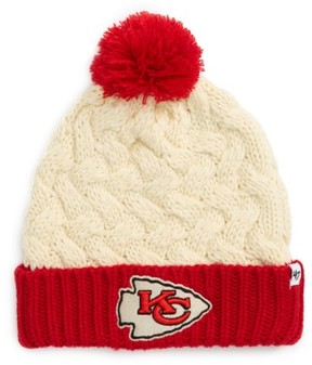 '47 Women's Matterhorn Kansas City Chiefs Beanie - White