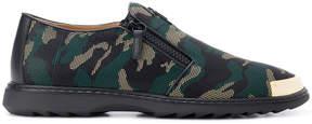 Giuseppe Zanotti Design Cooper camouflage loafers