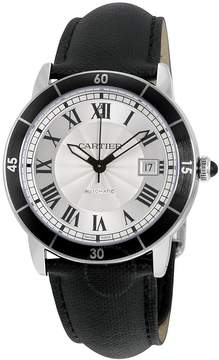 Cartier Ronde Croisiere Automatic Silver Dial Men's Watch
