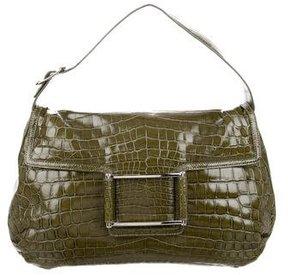Lambertson Truex Crocodile Shoulder Bag