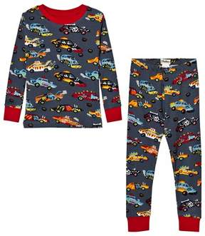 Hatley Grey Cars Print Pyjamas