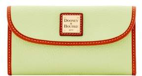 Dooney & Bourke Pebble Grain Continental Clutch Wallet - KEY LIME - STYLE