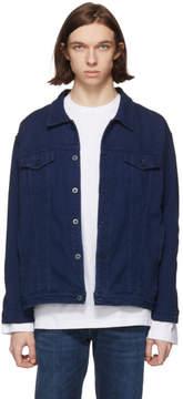 Naked & Famous Denim Denim Indigo Oversized Sashiko Jacket
