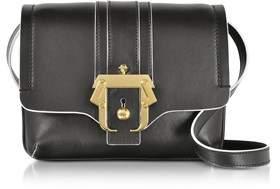 Paula Cademartori Women's Black Leather Shoulder Bag.