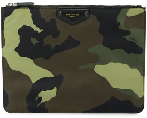 Givenchy Camouflage Pouch Bag